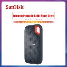 <b>SanDisk Extreme Portable SSD</b> 1TB 500GB 550M External Hard ...
