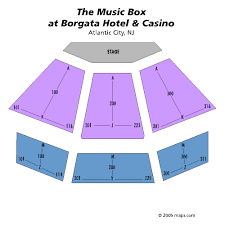 Music Box At The Borgata Atlantic City Tickets Schedule