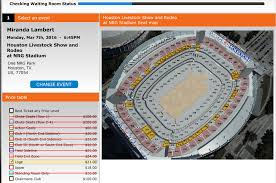 Meticulous Hlsr Seating Houston Rodeo Seating Rows Rodeo