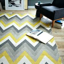 yellow chevron rug yellow and grey chevron area rug designs