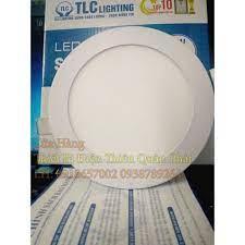 Đèn led âm trần 9W TLC siêu mỏng chính hãng với 2 phân loại màu chính hãng  98,000đ