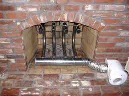 diy fireplace heat exchanger water grate wood