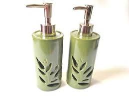 Decorative bathroom soap dispensers Bathroom Accessories Image Is Loading Decorativebathroomhandsoaplotiondispensershadowbox Pergiinfo Decorative Bathroom Hand Soaplotion Dispenser Shadow Box Leaf