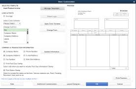 quickbooks invoice template how to customize invoice templates in quickbooks pro
