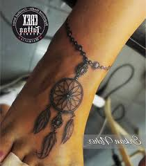 Dream Catcher Foot Tattoos Amazing Foot Tattoos By Approved Artists Caymancode 12