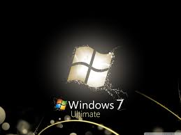 windows wallpapers widescreen.  Widescreen Windows 7 Ultimate Bright Black HD Desktop Wallpaper  Widescreen And Wallpapers L