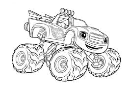 Small Picture Get This monster truck coloring page free printable for kids 12791