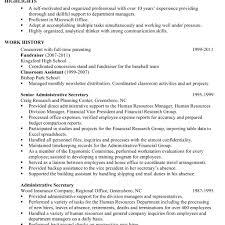 Resume Sample For An Administrativetant Susan Ireland Resumes