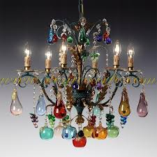 awesome murano glass chandelier for large ca rezzonico l7061k12 clear murano