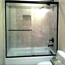 maax tub shower door installation bathtub ideas doors frameless art of bath clear 3 8 glass bathtub shower door