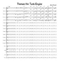 Big Band Charts Free Pdf Thomas The Tank Engine Big Band Chart Sheet Music For Piano