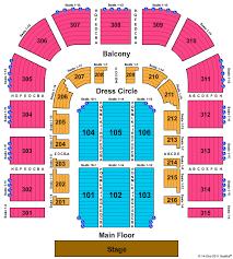 City National Civic Seating Capacity City National Civic
