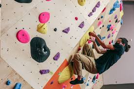 bouldering wall recreational sports
