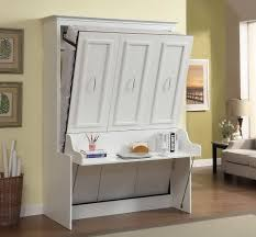murphy bed office. gabriella queen murphy bed with desk white office