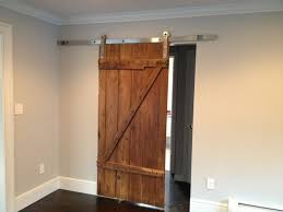 barn wood sliding door hardware closet set