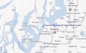Tacoma Narrows Bridge Washington Tide Station Location Guide