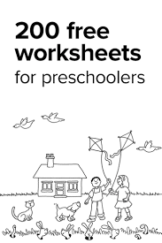 Small Picture Best 25 Preschool worksheets ideas on Pinterest Preschool