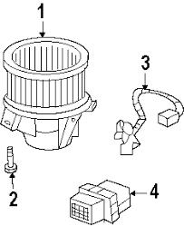 parts com® chevrolet traverse blower motor fan oem parts 2011 chevrolet traverse lt v6 3 6 liter gas blower motor fan