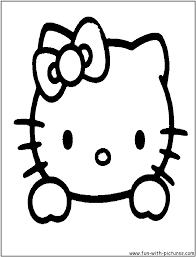 Hello kitty was born on november 1 in the suburbs of london and she lives there with her parents george and mary, and her twin sister, mimmy. Hello Kitty Face Coloring Page Hello Kitty Hello Kitty Colouring Pages Hello Kitty Coloring