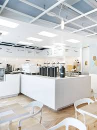 Laboratory Inspired Minimalist Coffee Bar