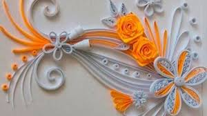 Decorative Items With Paper How To Make Beautiful Flowers With Paper Dailymotion Flowers Ideas