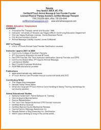 Massage Therapist Resume Sqa Resume Sample New Massage Therapist Resume Samples Eviosoft 30