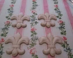 appliques for furniture. fleur de lis wood furniture appliques set of 4 for m