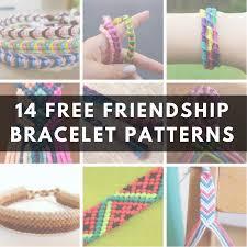 14 diy friendship bracelet patterns