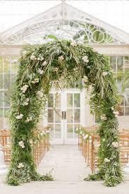 Beautifully foliaceous arch