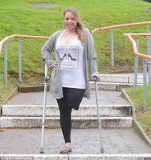 Cheerleader who had her leg amputated after horrific car crash ...