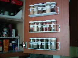 spice rack for cabinets door : Choosing Spice Racks For Cabinets ...
