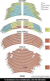 Theatre Royal Drury Lane Seating Chart Theatre Royal Brighton Seating Plan View The Seating