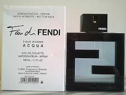 <b>FAN DI FENDI</b> POUR HOMME <b>AQUA</b> MENS EDT SPRAY ...