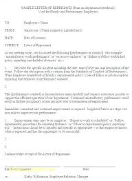 Disciplinary Action Forms Inspirational Employee Reprimand Template