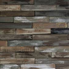 nuvelle deco planks light house white washed 1 2 in x 2 in wide x 12 in length solid hardwood wall planks 10 sq ft case nv4dp the home depot
