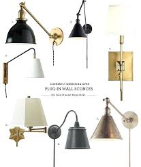 articulating wall sconce obsessed with plug in wall sconces o frankfort articulating wall light