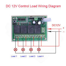 dcv channels rf wireless toggle switch v power window switch dc12v 4channels rf wireless toggle switch 12v power window switch transmitter learning code switches rf wall switch in switches from home improvement