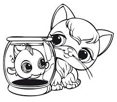 Small Picture pet shop coloring pages printable Series Littlest Pet Shop
