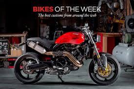 custom bikes of the week 21 may 2018 the best cafe racers scramblers