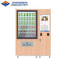 Refrigerated Vending Machines For Sandwiches Delectable China Smart Healthy Salad Jar Vending Locker With Elevator System
