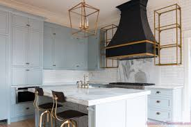 Classic And Modern Kitchens Classic Vintage Modern Kitchen Blue Gray Cabinets Inset Shaker