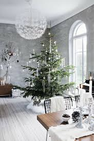 Modern Christmas Home Decor. Metallic Holiday Decor
