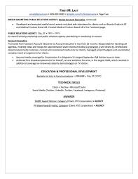 sample public relations resume public relations resume sample professional resume examples