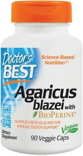 Doctor's Best <b>Agaricus Blazei with BioPerine</b> 90 Capsules