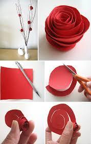 Wedding Paper Flower Centerpieces Diy Paper Flower Centerpiece Home Design Garden Architecture