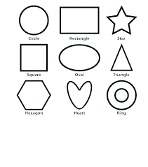 Printable Shapes For Preschoolers Preschool Shapes Coloring Pages ...