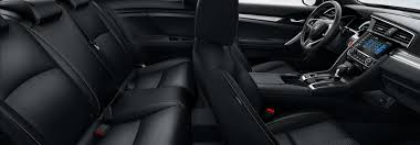 which honda civic models have leather
