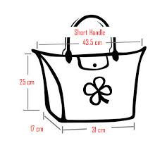 Longchamp Handbag Dimensions Cloversac