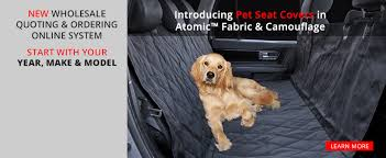 new dog seat covers