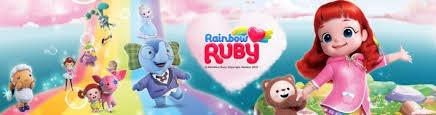 «Радужный мир Руби» (<b>Rainbow Ruby</b>): мультфильм и игрушки